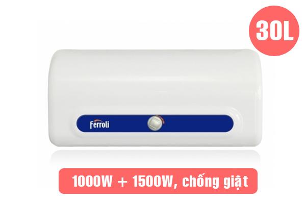 Ferroli QQ Evo 30 TE, Bình nóng lạnh Ferroli 30 lít