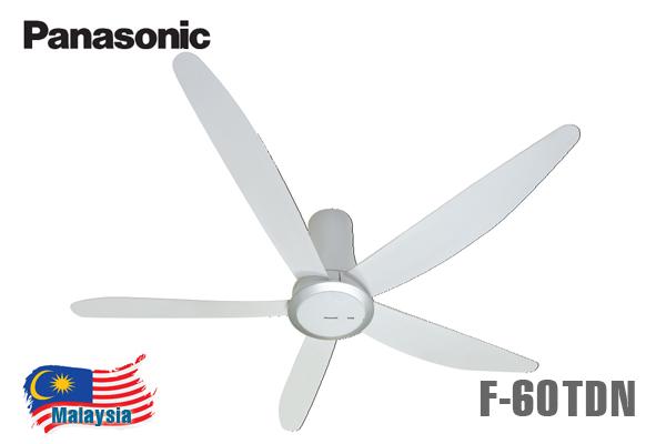 Quạt trần Panasonic F-60TDN 5 cánh điều khiển từ xa
