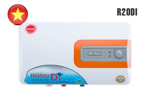 Rossi R20DI, Bình nước nóng Rossi 20 lít