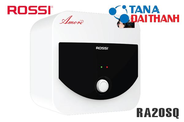 RA20SQ, Bình nóng lạnh Rossi Amore 20l vuông