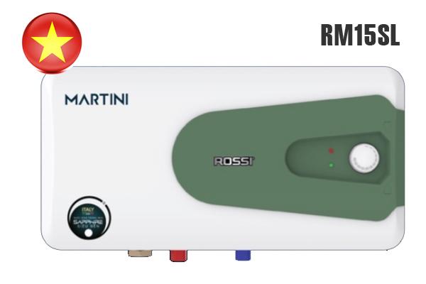 Rossi Martini RM15SL, Bình nước nóng Rossi 15 lít giá rẻ