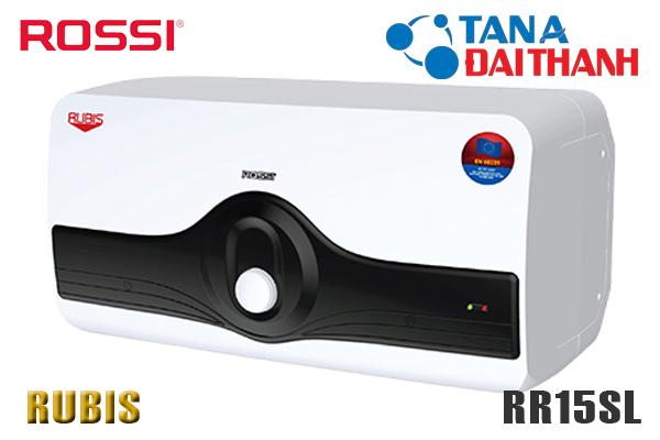 Bình nóng lạnh Rossi 15l RR15SL Ngang [GIÁ BÁN BUÔN Rẻ Nhất]