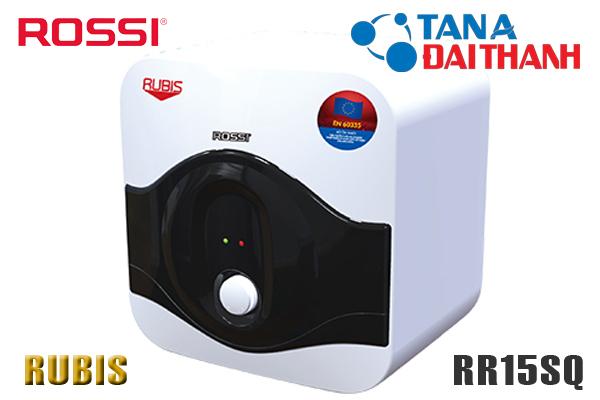 Bình nóng lạnh Rossi 15l RR15SQ Rubis [GIÁ BÁN BUÔN Rẻ Nhất]