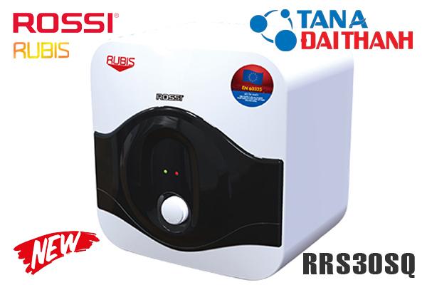Bình nóng lạnh Rossi 30 lít vuông RRS30SQ giá rẻ 2021