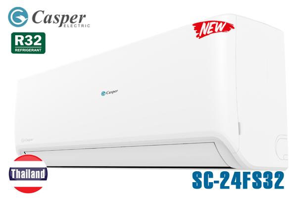 SC-24FS32, Điều hòa Casper 1 chiều 24000BTU R32 Thái Lan