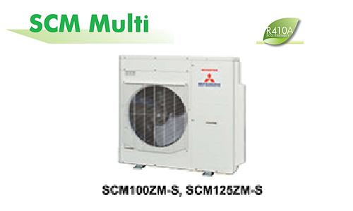 Điều hòa multi Mitsubishi Heavy SCM125ZM-S 1 nóng 6 lạnh