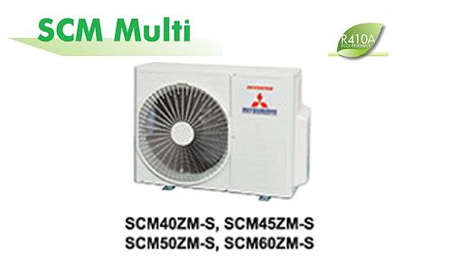 Điều hòa multi Mitsubishi Heavy SCM45ZS-S 1 nóng 2 lạnh