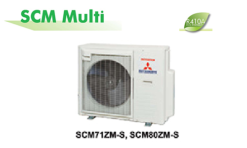 Điều hòa multi Mitsubishi Heavy SCM80ZM-S1 1 nóng 4 lạnh