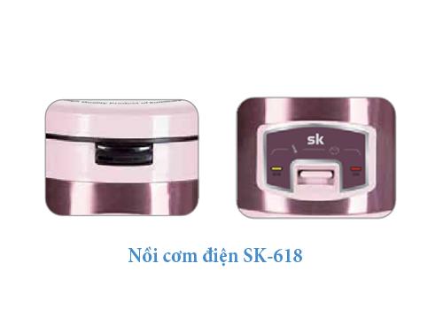 Nồi cơm điện Sumikura 1.8 lít SK-618