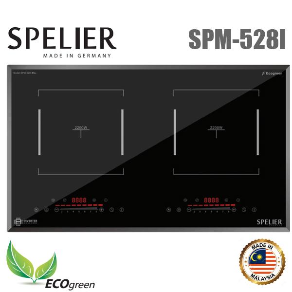 Bếp từ đôi Spelier SPM-528I giá rẻ, chính hãng