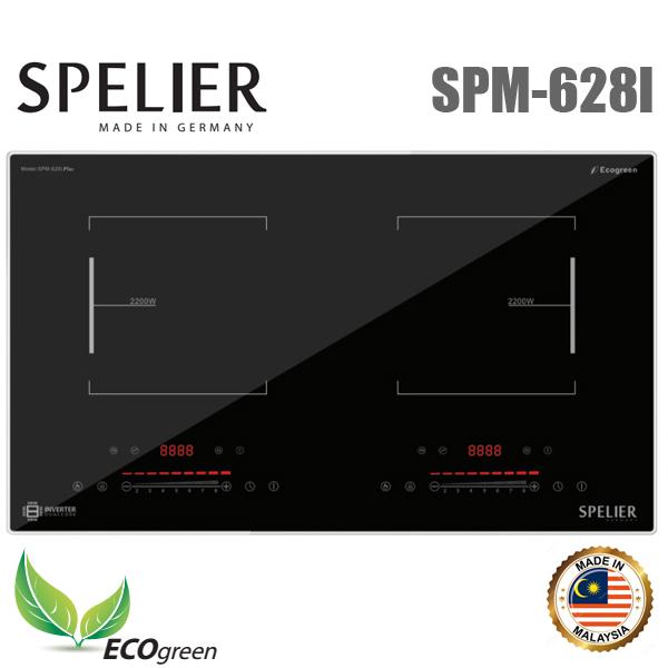 Bếp từ đôi Spelier SPM-628I giá rẻ, chính hãng