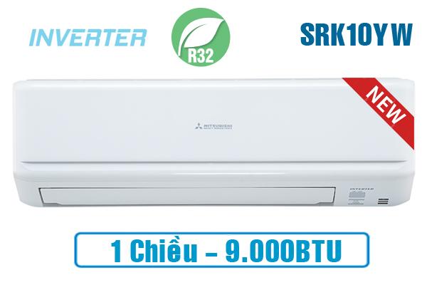 Điều hòa Mitsubishi Heavy SRK10YW-W5 9000BTU inverter 1 chiều