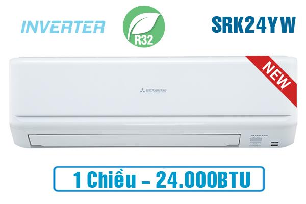 Điều hòa Mitsubishi Heavy SRK24YW-W5 24000BTU inverter 1 chiều