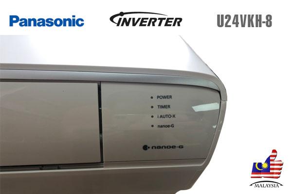 Panasonic U24VKH-8, Điều hòa Panasonic 1 chiều 24000BTU Inverter