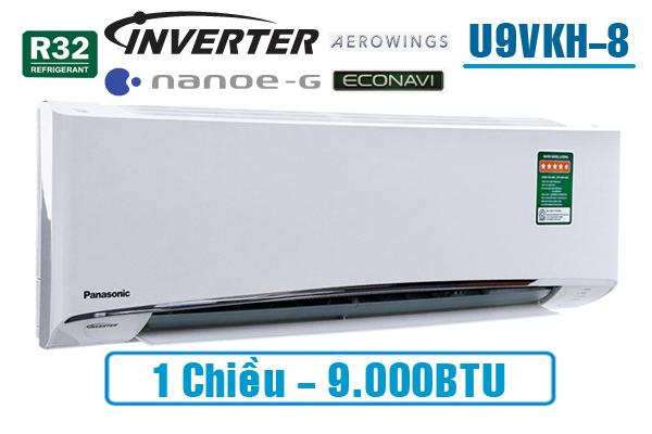 Panasonic U9VKH-8, Điều hòa Panasonic 9000BTU 1 chiều inverter