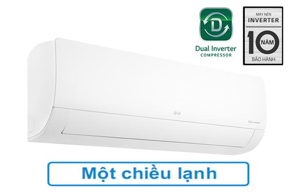 LG V10APF, Điều hòa LG 9000BTU 1 chiều Inverter lọc không khí