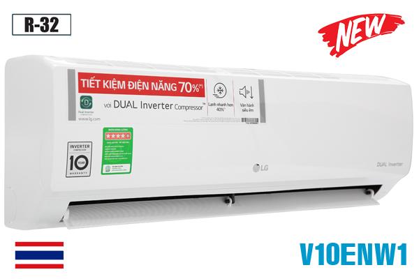 LG V10ENW1, Điều hòa LG 9000BTU 1 chiều inverter [2021]