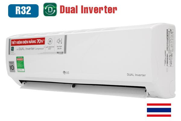 LG V13ENH, Điều hòa LG inverter 12000BTU 1 chiều gas R32