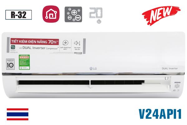 LG V24API1, Điều hòa LG 24000 BTU 1 chiều inverter ThinQ