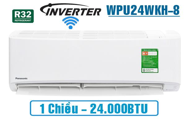 Panasonic WPU24WKH-8M, Điều hòa Panasonic 1 chiều 24000BTU wifi
