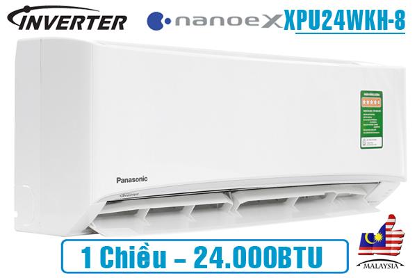 Panasonic XPU24WKH-8, Điều hòa Panasonic 1 chiều 24000BTU NanoeX