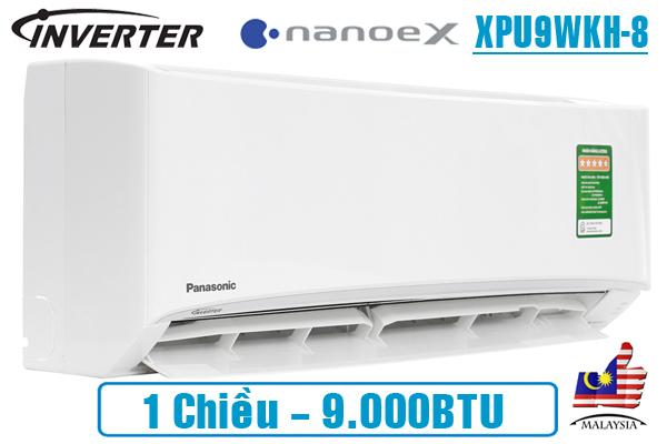 Panasonic XPU9WKH-8, Điều hòa Panasonic 1 chiều 9000BTU NanoeX