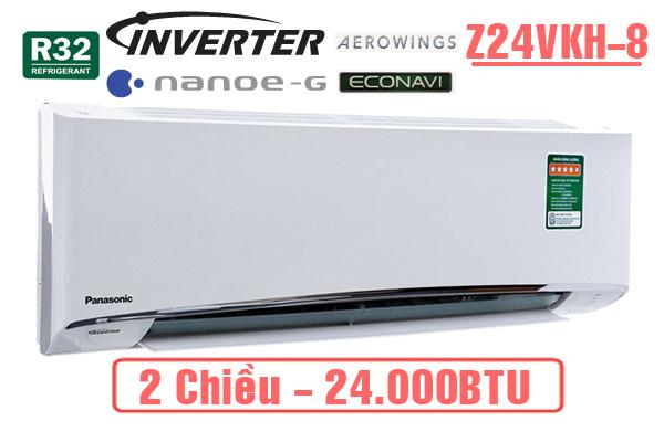 Panasonic Z24VKH-8, Điều hòa Panasonic 2 chiều inverter 24.000BTU
