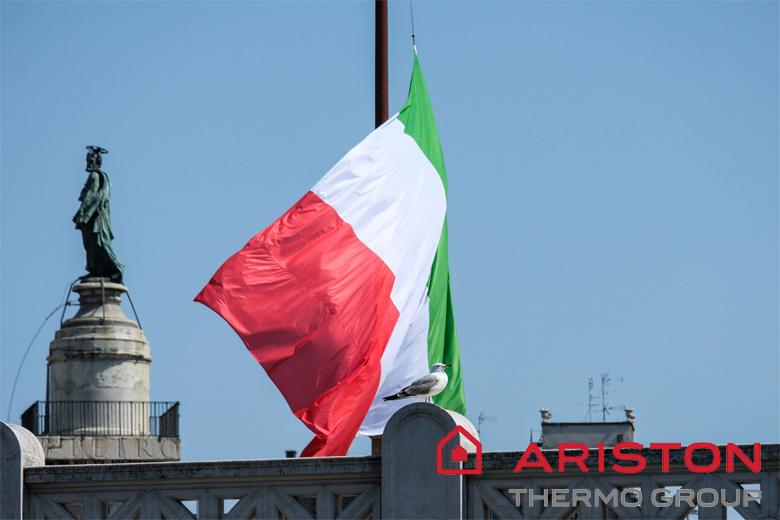 bình nóng lạnh ariston thương hiệu italia