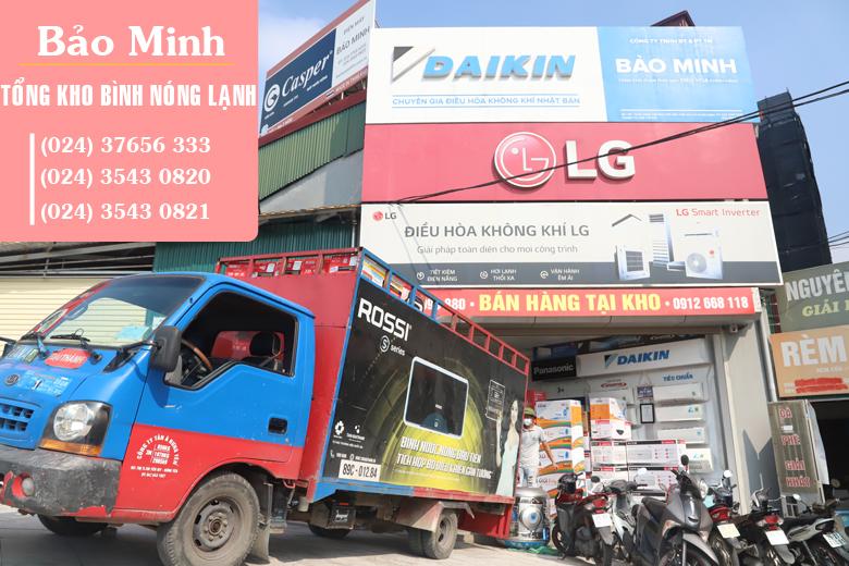 Bảo Minh - Tổng kho đại lý bình nóng lạnh Rossi Tân Á giá rẻ nhất