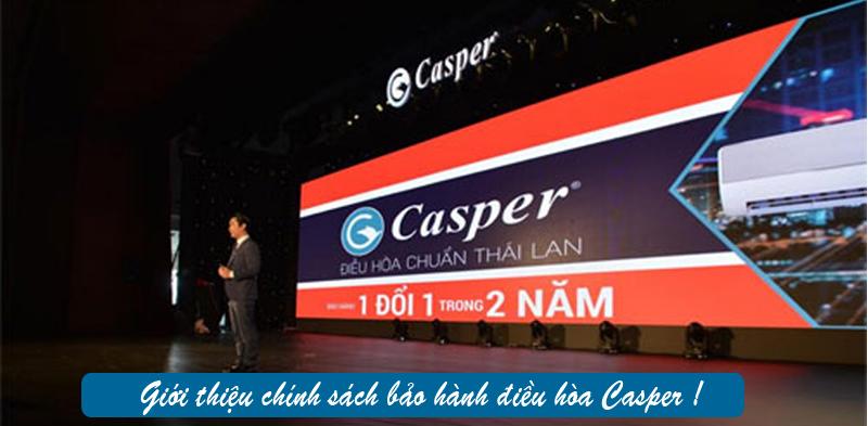 Chế độ bảo hành của Casper EH-24TL22