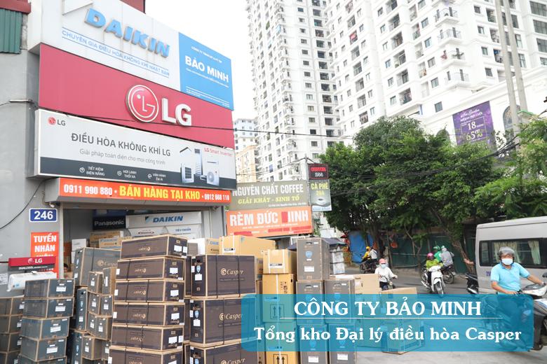 Bảo Minh - Đại lý điều hòa Casper giá rẻ tại Hà Nội